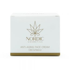 0000613 Nordic Cosmetics Anti Aging Face Cream Cbd Retinol