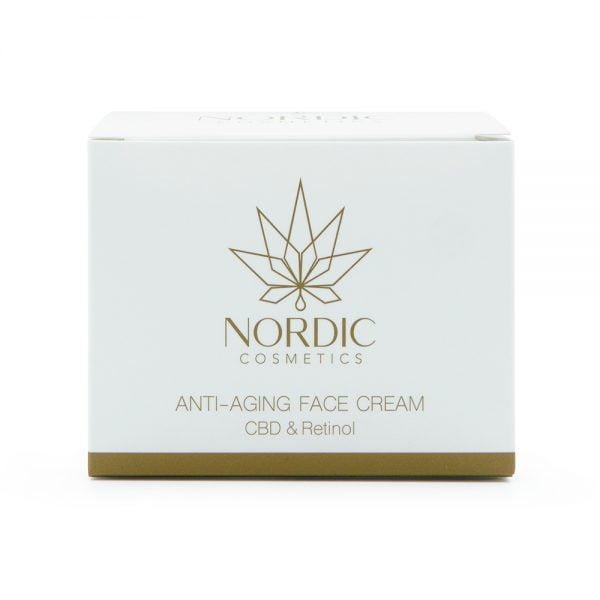 0000613 pohjoismainen kosmetiikka anti ageing kasvovoide CBD retinoli