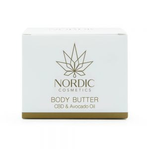 0000622 Nordic Cosmetics Body Butter CBD Avocado-olie