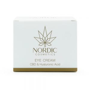 0000633 Nordic Cosmetics Oogcrème Cbd Hyaluronzuur