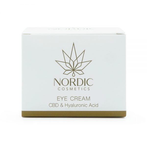 0000633 Nordic Cosmetics Eye Cream Cbd Hyaluronic Acid