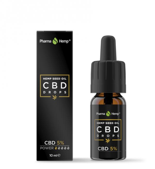 olio di cannabis 5%
