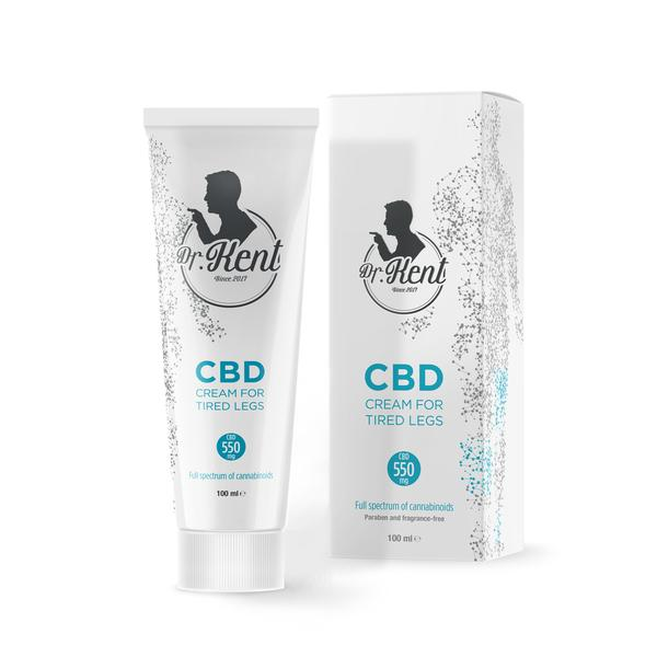 CBD for tired legs dr kent cbd cream