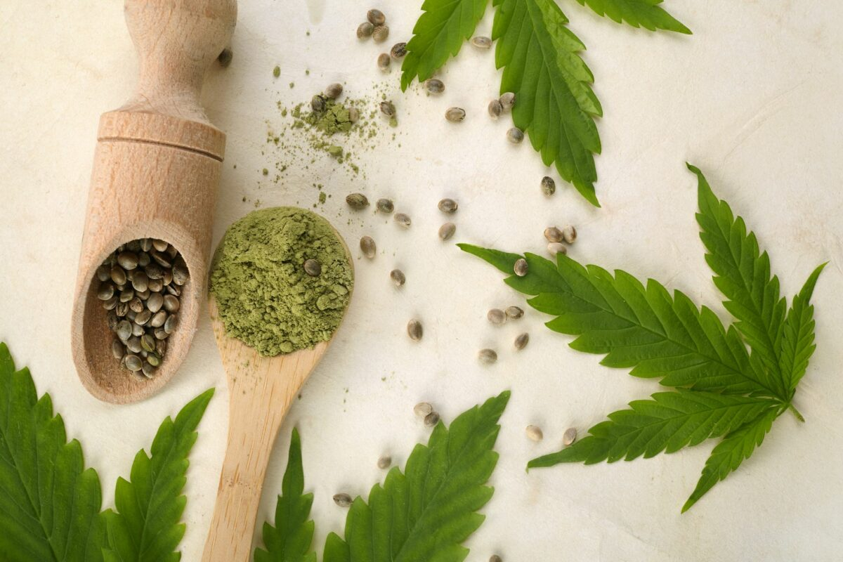 Cannabis Seeds And Green Leaves Vegetarian Healthy Royalty Free Image 1604248764